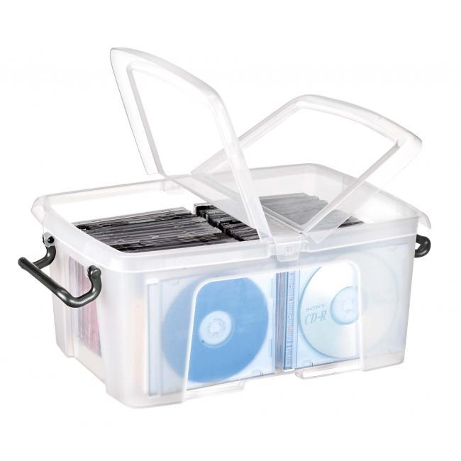 Plastový box s vekom 12 l