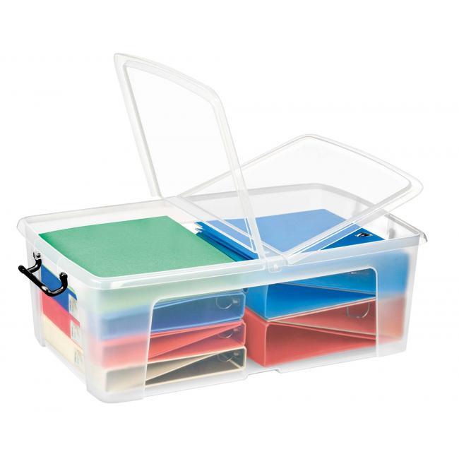 Plastový box s vekom 50 l