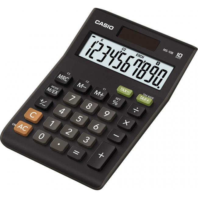 Kalkulačka Casio MS-10B s 10 miestnym displejomi