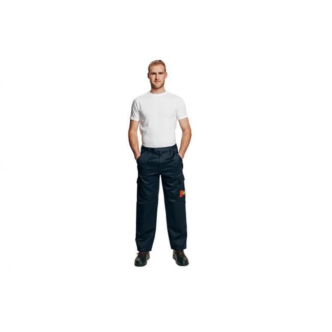 Nohavice do pása COEN FR+AS tmavomodré č.56