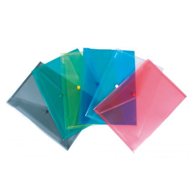 Plastový obal A4 s cvočkom DONAU červený