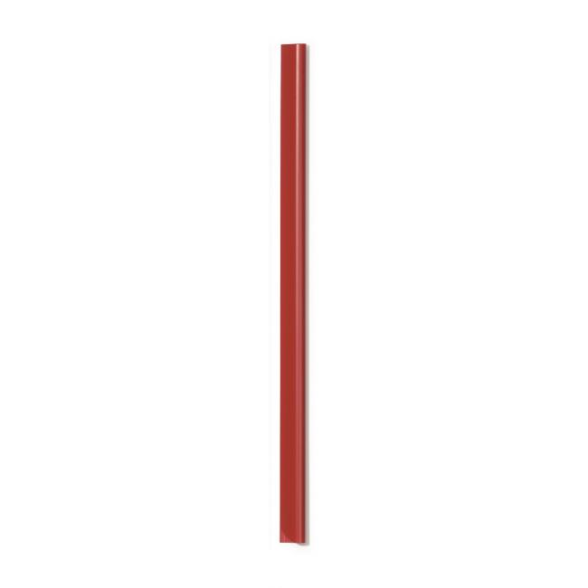 Lišty DURABLE 1-60 listov červené
