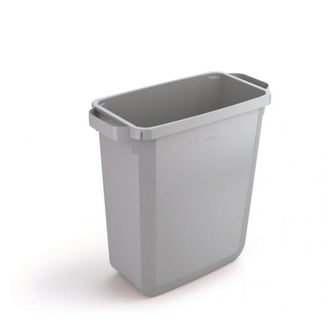 Kôš plastový DURABIN 60l sivý