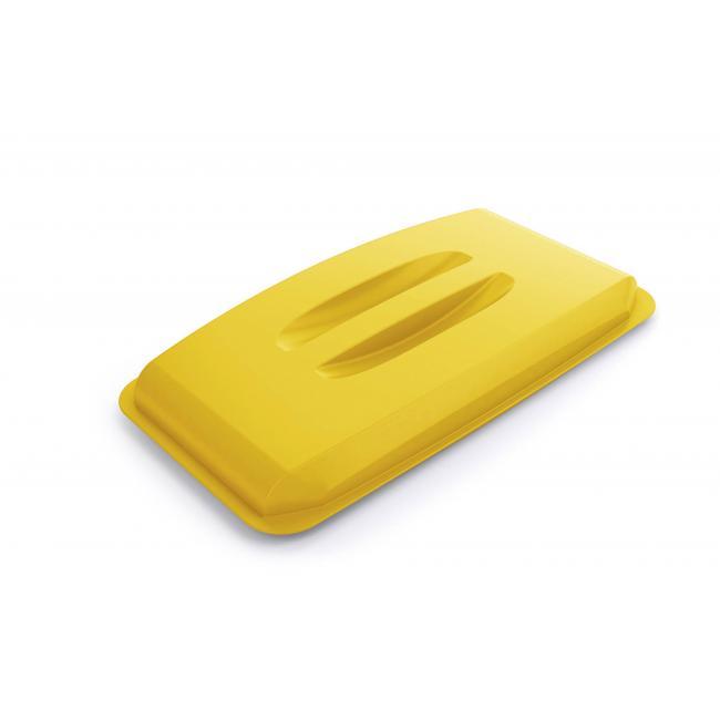 Veko na plastový kôš DURABIN LID 60 žlté