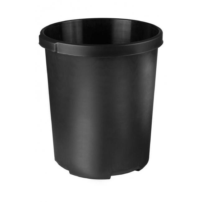 Kôš plastový na separovaný odpad HAN 50l čierny