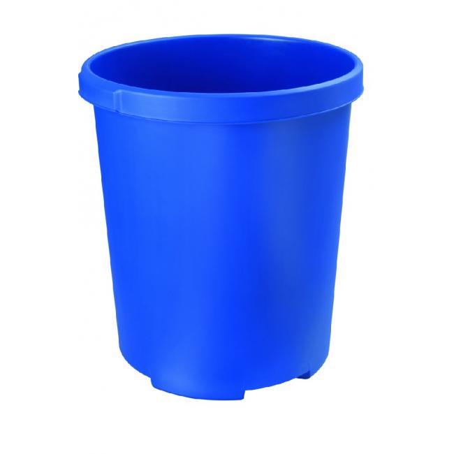 Kôš plastový na separovaný odpad HAN 50l modrý
