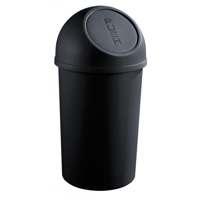 Kôš z polypropylénu Helit 45l čierny