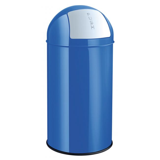 Kôš kovový Helit 50l modrý
