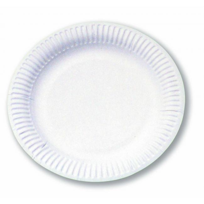 Papierový tanier plytký 15cm 100ks