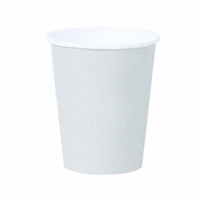 Papierový pohár 0,2l `Coffee to go` biely 50ks