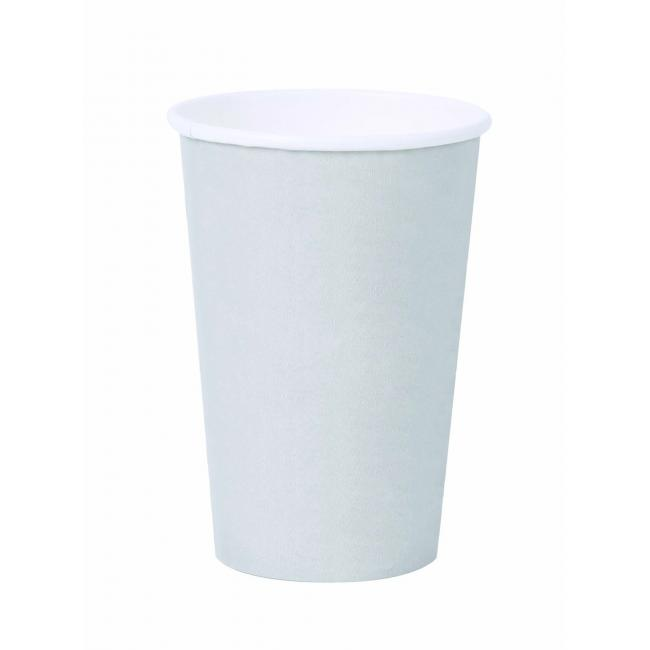 Papierový pohár 0,3l `Coffee to go` biely 50ks