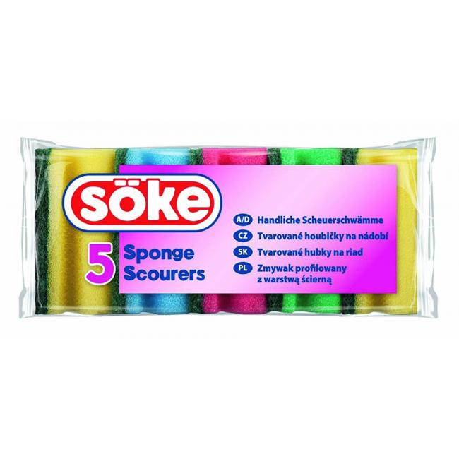 Hubka na riad tvarovaná Söke 5 ks