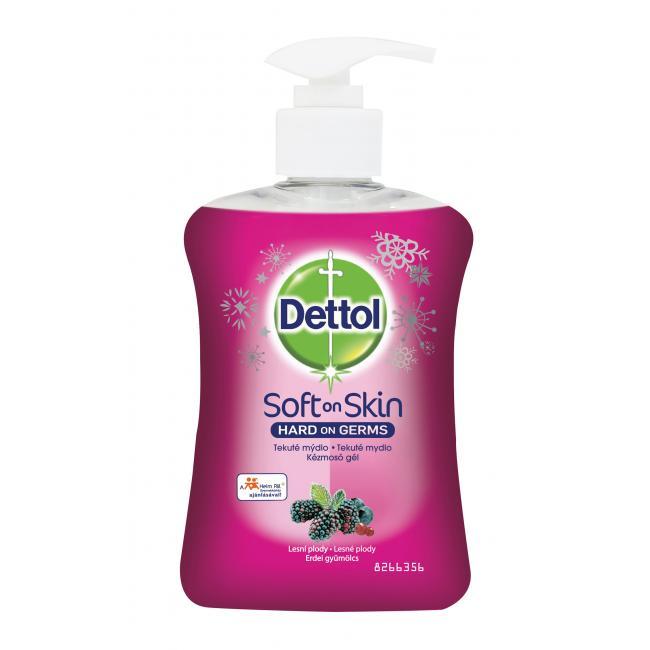 Dettol tekuté mydlo s pumpičkou 250ml - Lesné plody