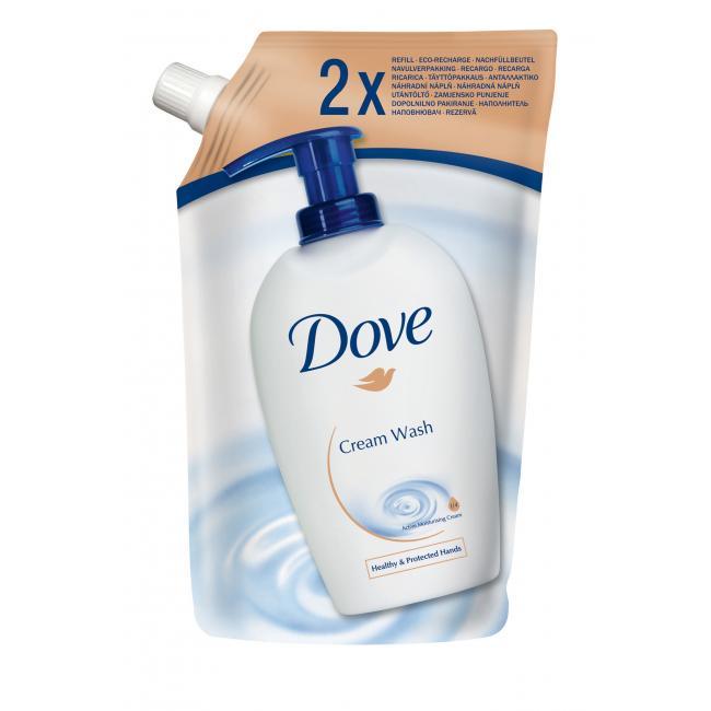 Dove tekuté mydlo krémové náhradná náplň 500ml