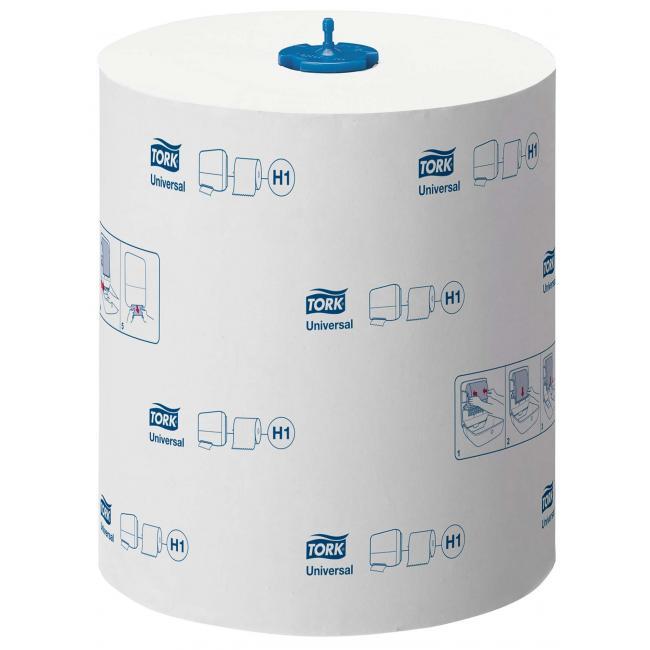 Papierové utierky v rolke 1-vrstv. TORK Matic extra dlhé biele H1 (6ks)