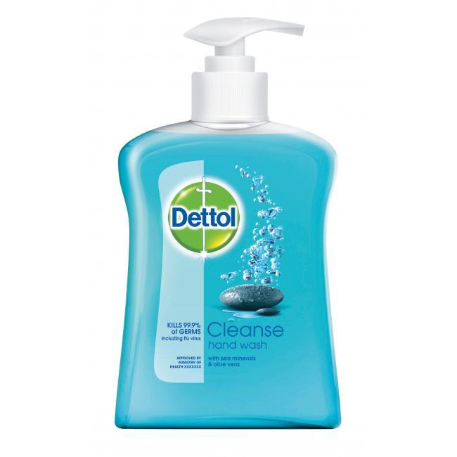 Dettol tekuté mydlo s pumpičkou 250ml - Cleanse/Vôňa Mora