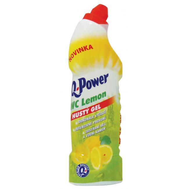 Q-Power WC gél 750ml lemon