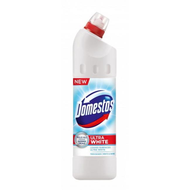 Domestos WC čistiaci gél 750ml - White Ultra