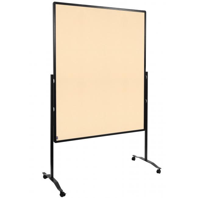 Moderačná tabuľa plstená 150x120 cm PREMIUM béžová