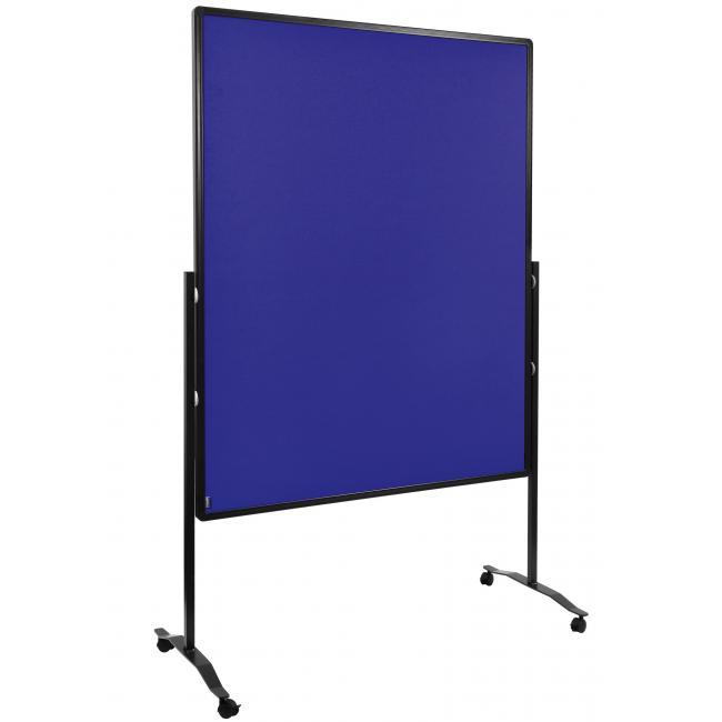 Moderačná tabuľa plstená 120x150 cm PREMIUM tmavomodrá