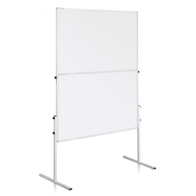 Moderačná tabuľa penová 150x120 cm ECONOMY biela