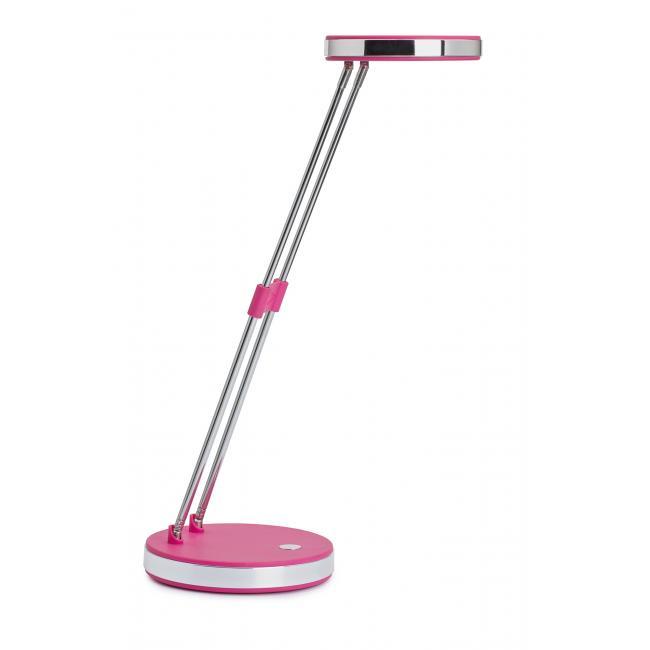 LED lampa stolová MAULpuck ružová