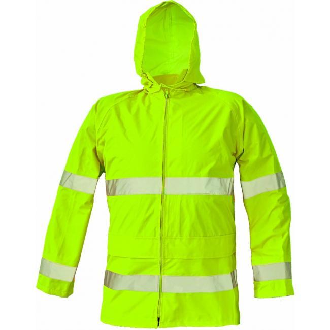 Bunda bezpečnostná GORDON HV žltá M