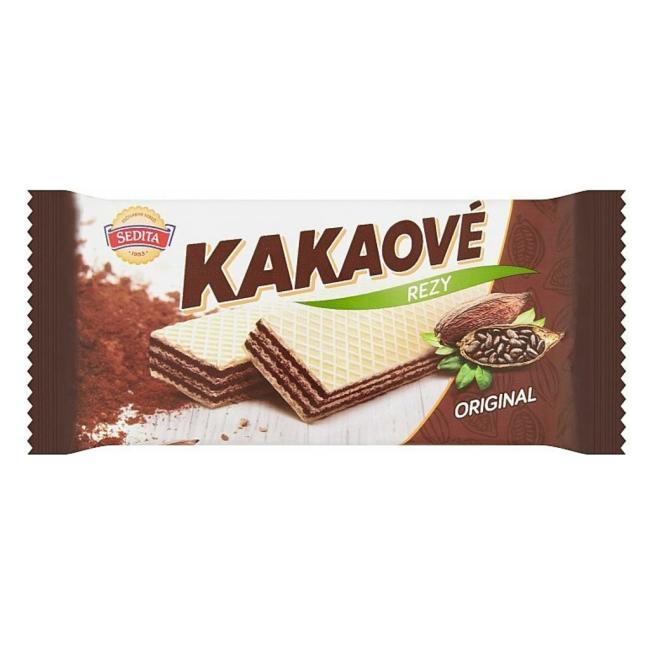 Kakaové rezy originál 50g