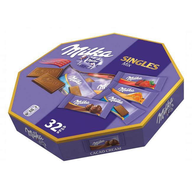 Milka Singles čokoládky MIX 138g