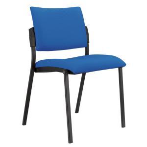 Konferenčná stolička Kubic, modrá