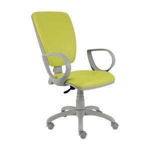 Kancelárska stolička Rianna, zelená