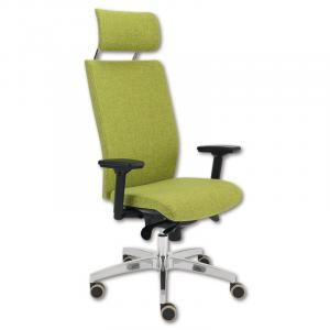 Kancelárska stolička Kent Exclusive, E-SY, zelená