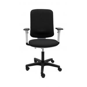 Kancelárska stolička EVA čierna (Bombay 02) + podrúčky P65