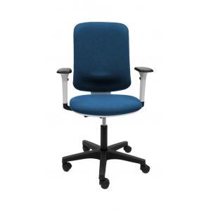 Kancelárska stolička EVA svetlo modrá (Bombay 57) + podrúčky P65