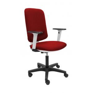 Kancelárska stolička EVA červená (Bombay 33) + podrúčky P65