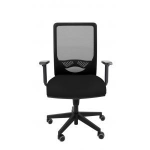 Kancelárska stolička DUCK SYN čierna (Bombay 02) + podrúčky P44