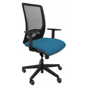Kancelárska stolička DUCK SYN svetlo modrá (Bombay 57) + podrúčky P44