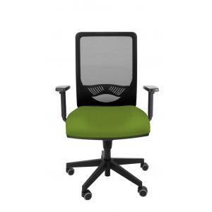 Kancelárska stolička DUCK SYN zelená (Bombay 38) + podrúčky P44