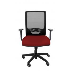Kancelárska stolička DUCK SYN červená (Bombay 33) + podrúčky P44
