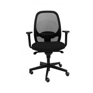 Kancelárska stolička MANDY SYN čierna (Bombay 02) + PDH + podrúčky P44