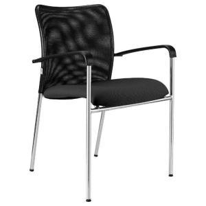 Konferenčná stolička Vanity Plus, čierna