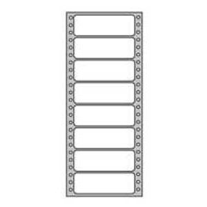 Etikety tabelačné 88,9x36mm APLI 1 radové