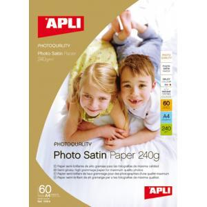 Fotopapier APLI A4 Satin 240g 25 hárkov