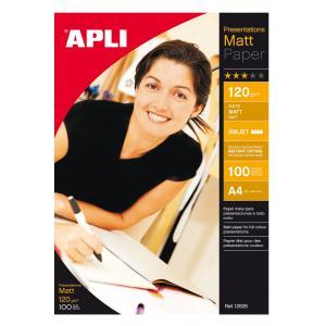 Fotopapier APLI matný 120g A4 100 hr