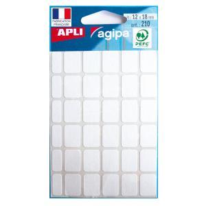 Etikety Agipa , 12x18 mm