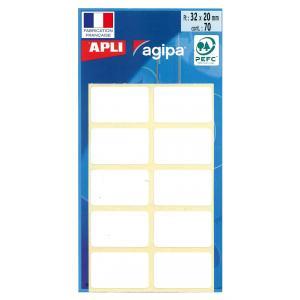 Etikety Agipa , 20x32 mm