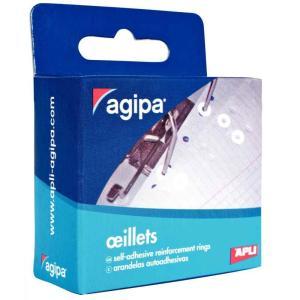 Spevňovacie krúžky Agipa biele 200ks
