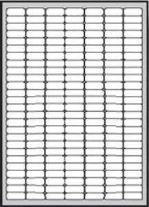 Etikety univerzálne odnímateľné 25,4x10mm
