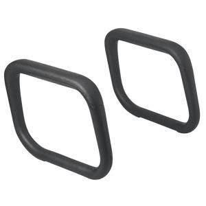 Plastové podrúčky BR04/55 čierne 2ks