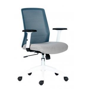 Kancelárska stolička Novello White sivá